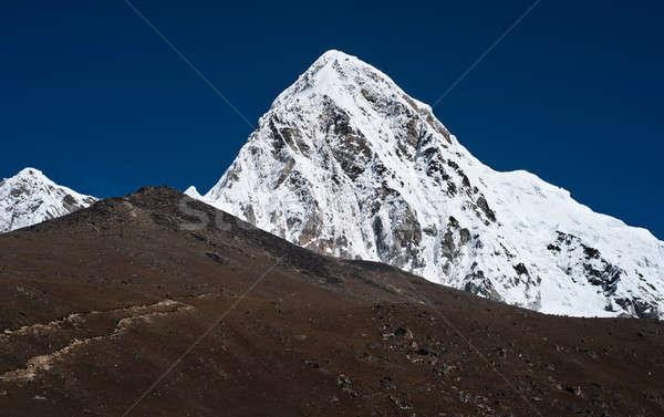 Montanhas himalaia Nepal paisagem neve montanha Foto stock © Arsgera