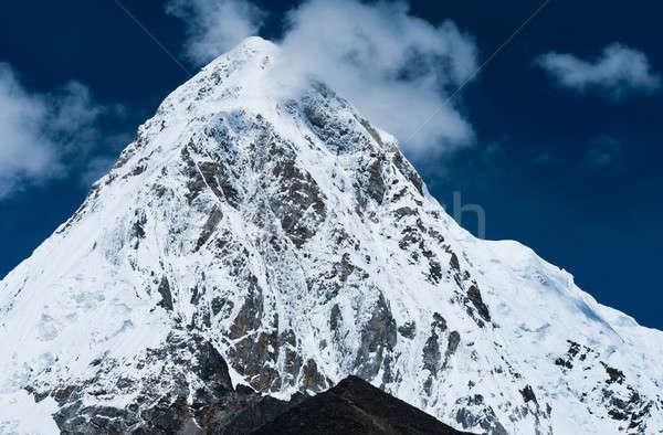 Montanhas himalaia Nepal paisagem neve Foto stock © Arsgera