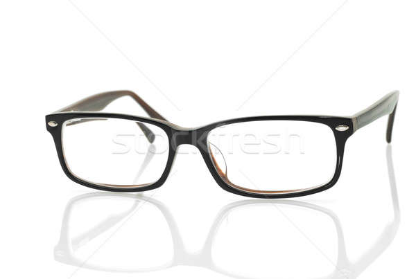 Modern glasses with reflection  Stock photo © Arsgera