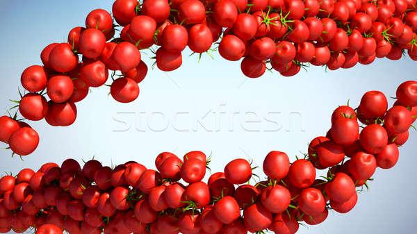 Tasty fresh Tomatoe Cherry flows Stock photo © Arsgera
