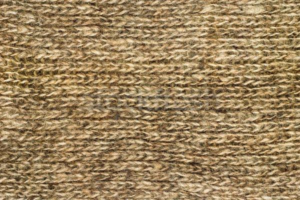 Closeup of woolen cloth. Useful as texture Stock photo © Arsgera