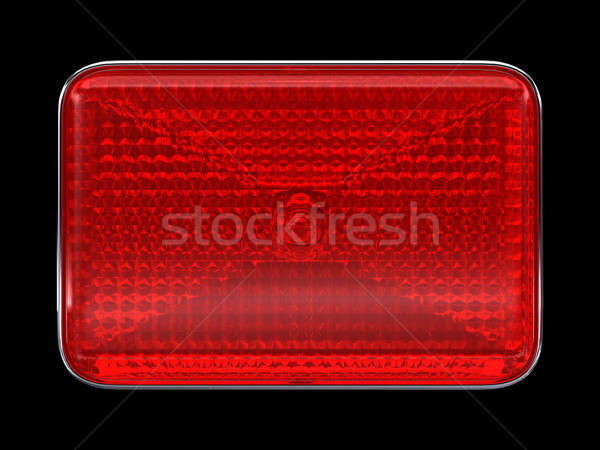 Red button or headlight Stock photo © Arsgera
