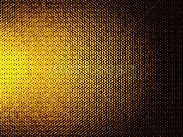Golden Scales or squama texture or metallic background Stock photo © Arsgera