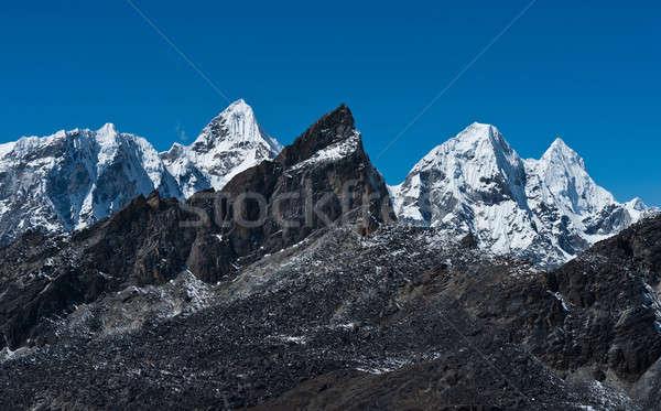 山 合格 ヒマラヤ山脈 空 氷 ストックフォト © Arsgera