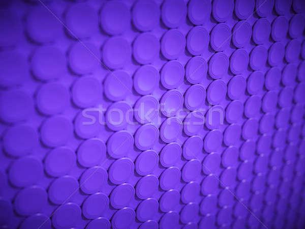 Purple bulging circles texture or background Stock photo © Arsgera