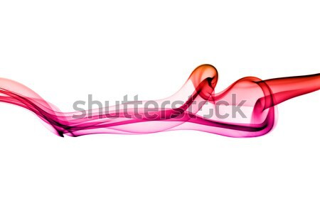 Stock photo: Abstract Colorful smoke shapes