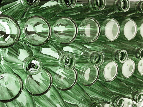 Stoccaggio molti bottiglie vino birra bar Foto d'archivio © Arsgera