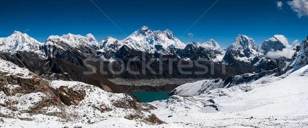 Panoramik görmek everest büyük karar Stok fotoğraf © Arsgera