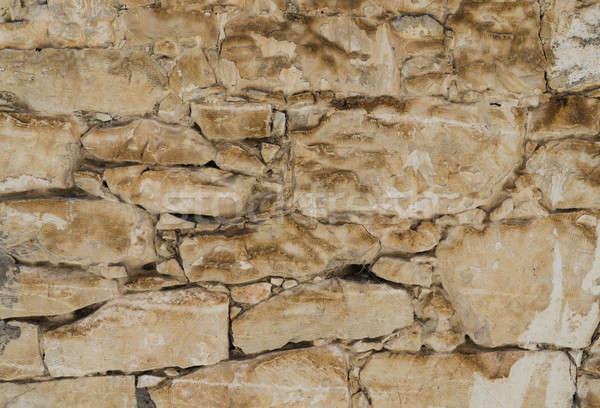 Powłoki rock mur tekstury Zdjęcia stock © Arsgera