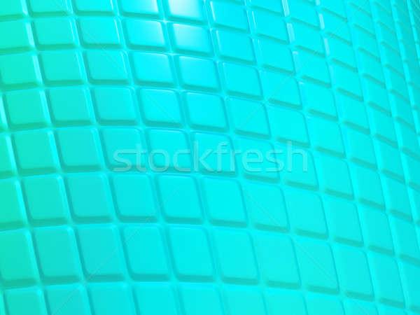 Turkoois patroon nuttig groot abstract Stockfoto © Arsgera