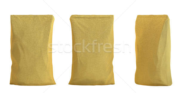 Pack for tea or coffee isolated over white Stock photo © Arsgera