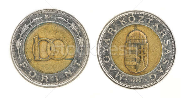 100 Forint - hungarian money Stock photo © Arsgera