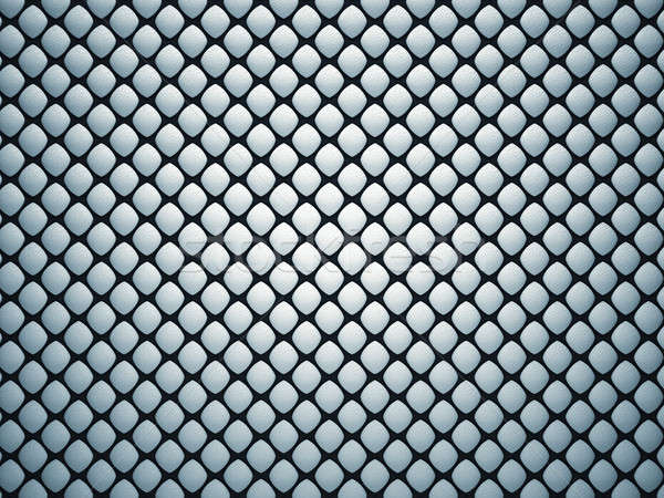 Black pattern with gray leather bumps Stock photo © Arsgera