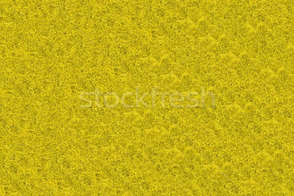 Close-up of yellow synthetic fibrous surface Stock photo © Arsgera