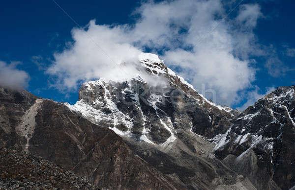 Montagnes sacré himalaya coup Népal ciel Photo stock © Arsgera