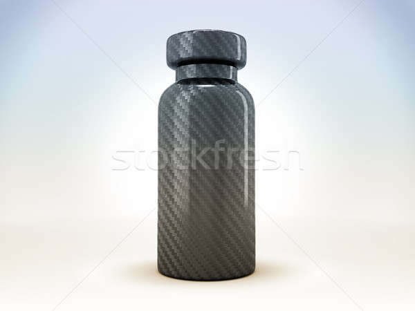 Carbon fiber medical ampoule or ampule  Stock photo © Arsgera