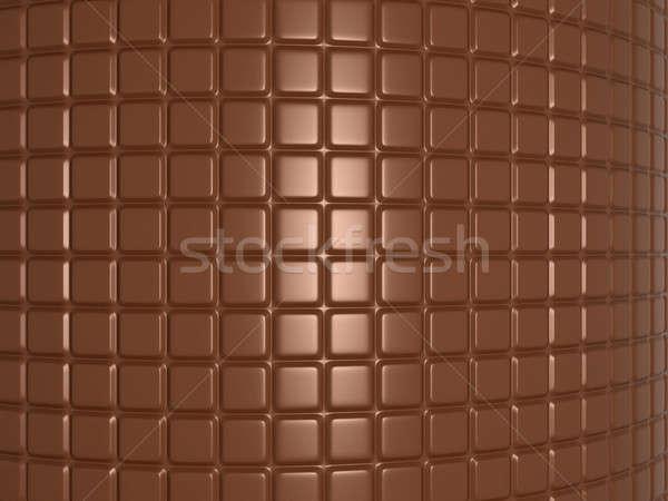 Csokoládé szelet hasznos textúra absztrakt csokoládé háttér Stock fotó © Arsgera