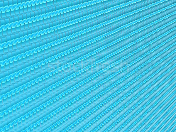 青 波状の スケール パターン 便利 抽象的な ストックフォト © Arsgera