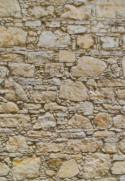 Ancient coquina Stone wall texture or background Stock photo © Arsgera