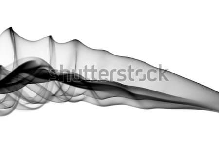 Black Abstract fume pattern Stock photo © Arsgera