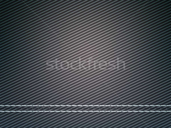 Stitched carbon fiber: Useful as texture Stock photo © Arsgera