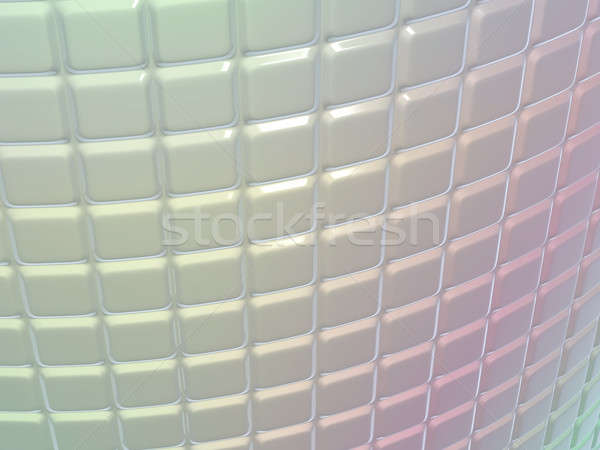 Fluted metal pattern with gradient colors Stock photo © Arsgera