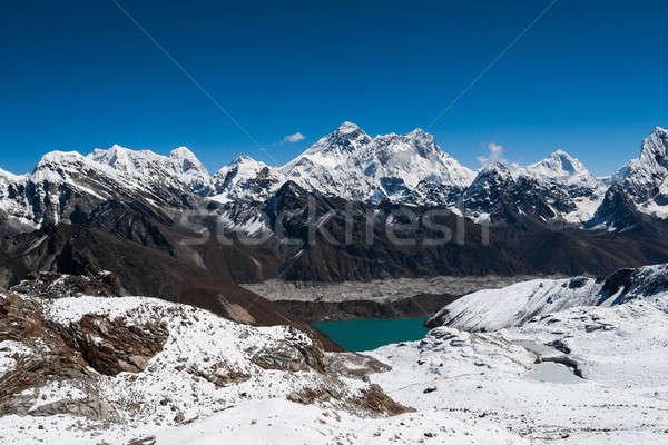有名な 合格 エベレスト 表示 雪 山 ストックフォト © Arsgera