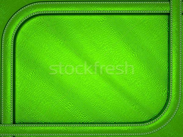 зеленый аллигатор кожи шаблон большой разрешение Сток-фото © Arsgera