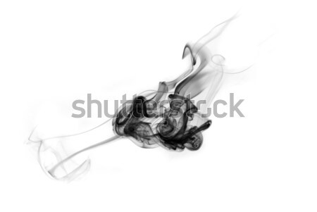 Black fume abstract curves figure  Stock photo © Arsgera