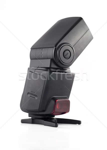 профессиональных Flash блок цифровая камера изолированный белый Сток-фото © Arsgera