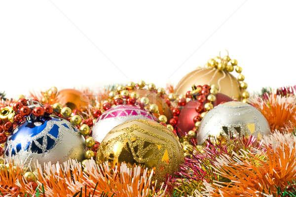 Zdjęcia stock: Christmas · powitanie · grupy · kolorowy · sieczka
