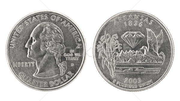 Quarter Dollar Arkansas Stock photo © Arsgera