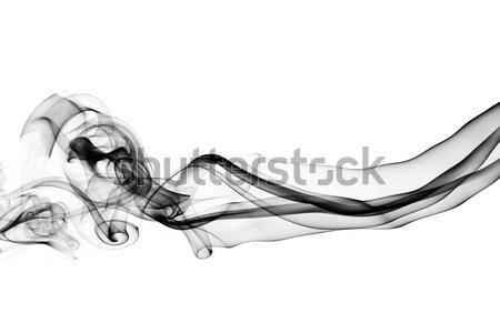 Magic fume abstract over white Stock photo © Arsgera