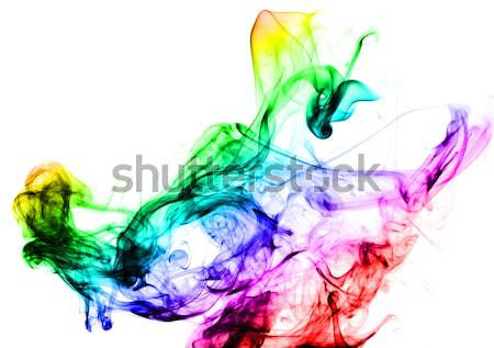 Abstract colorful Fume curves Stock photo © Arsgera