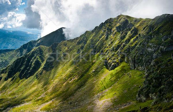 Bergen grens Oekraïne Roemenië groot Stockfoto © Arsgera