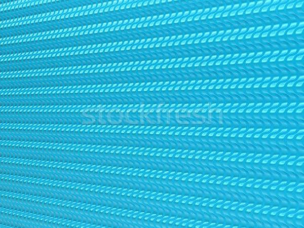 Terazi mavi dalgalı model yararlı inşaat Stok fotoğraf © Arsgera