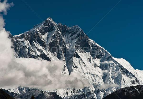 Lhotse and Lhotse shar summits Stock photo © Arsgera