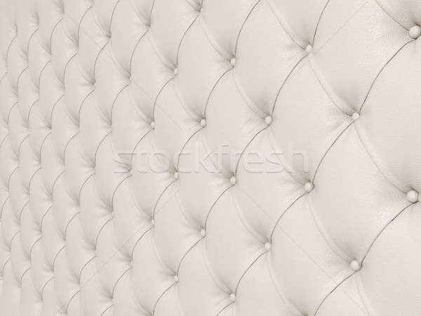 Upholstery: grey leather pattern with knobs  Stock photo © Arsgera
