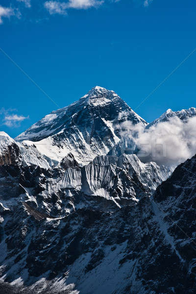エベレスト ピーク 先頭 世界 空 風景 ストックフォト © Arsgera