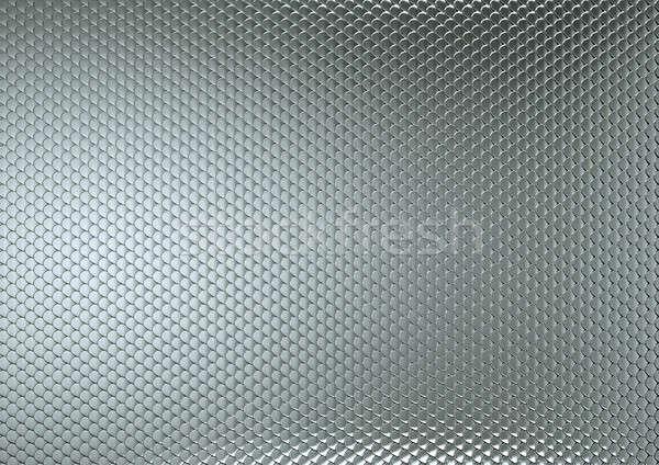 Scales or squama grey texture or metallic background Stock photo © Arsgera