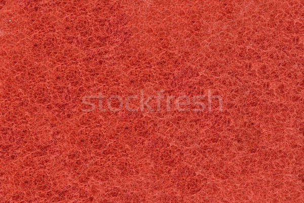 Close-up of Red synthetic fibrous surface Stock photo © Arsgera
