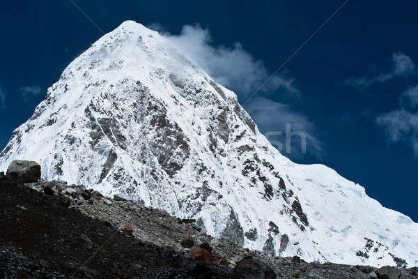 Pumo Ri Peak - Himalaya mountains Stock photo © Arsgera
