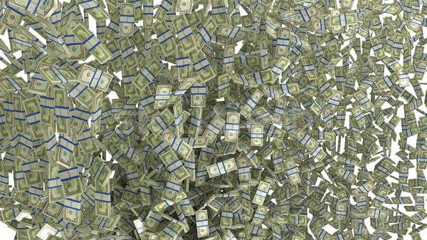 US dollars bundles background Stock photo © Arsgera