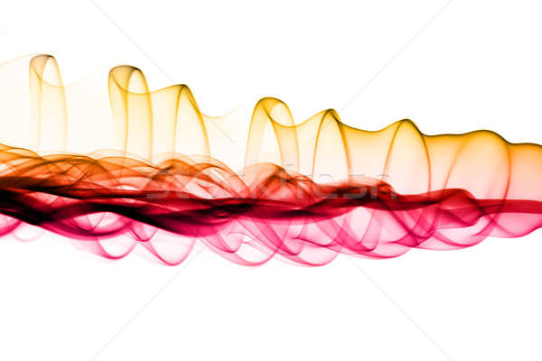 Stock photo: Magic waves - Abstract colored fume