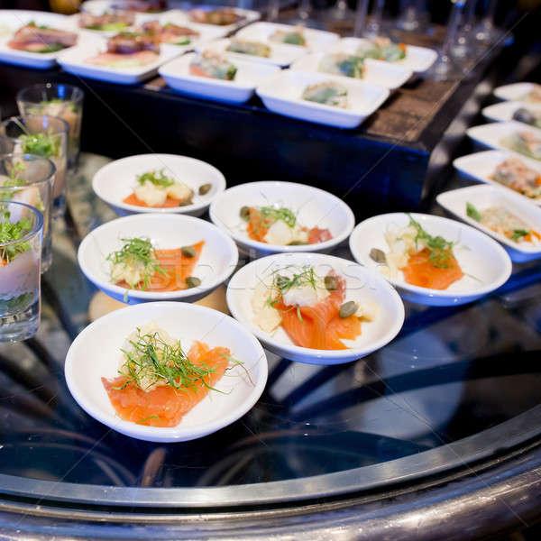 Aperitivos dedo comida saúde restaurante café da manhã Foto stock © art9858