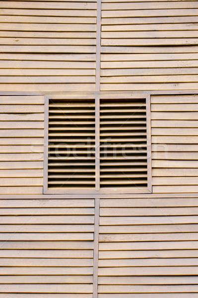 закрыто жалюзи стены здании домой Сток-фото © art9858
