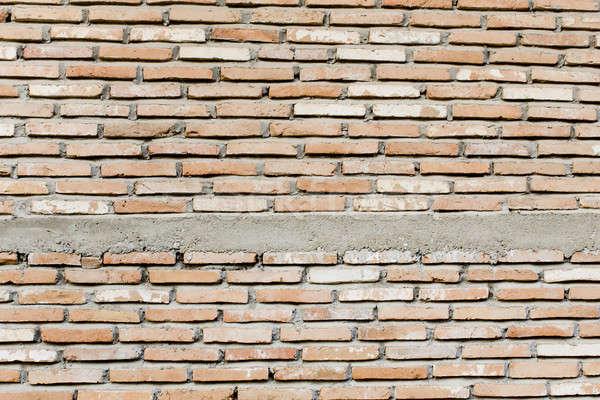 Muur textuur verf Rood steen vloer Stockfoto © art9858