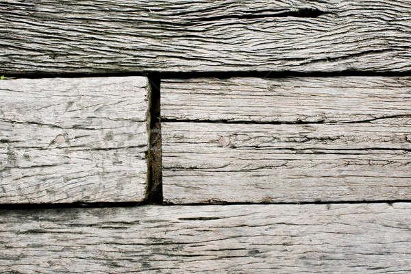 Madera vieja madera naturaleza fondos unas historia Foto stock © art9858
