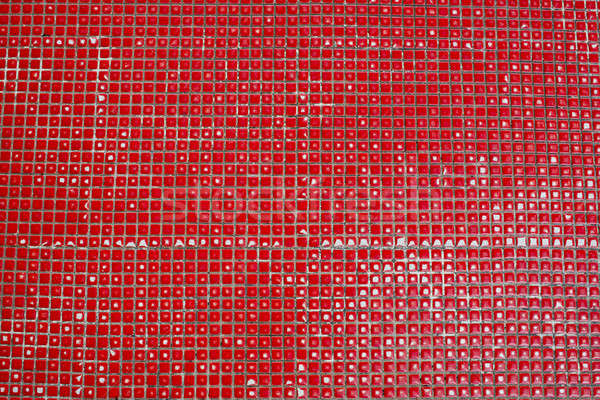 tiles with red color background texture Stock photo © art9858