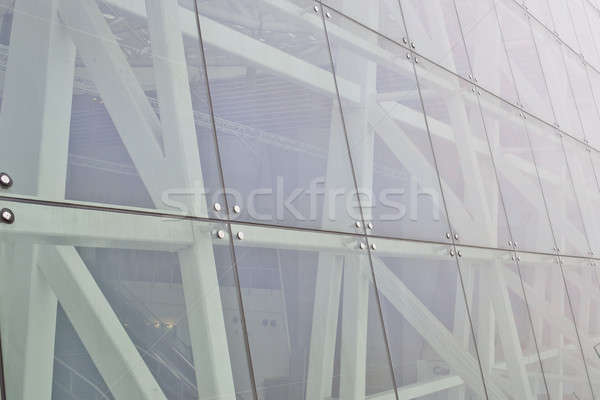 Part of wall of modern office building Stock photo © art9858
